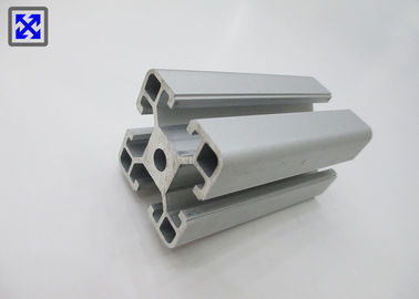 40 * 40 Blasting Natural Anodized T Slot Aluminum Profile For Industry Machinery
