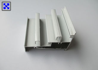 White Painted ISO Standard Aluminum Extrusion Profiles For Roller Shutter
