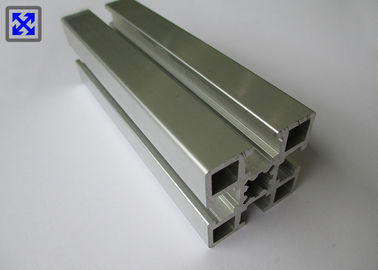 40 * 40 Extruded Aluminum T Slot , Aluminum T Slot Bar European Standard