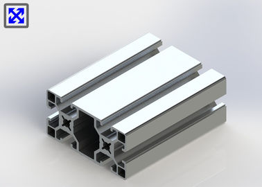 European Standard Anodized T Slot Aluminum Extrusion 40 * 80 For Industrial