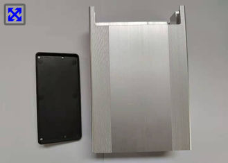 Silver Anodizing Aluminium Profile Enclosures T5 State ISO9001 Certification