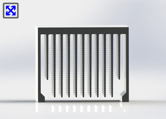 Professional Design Aluminum Heatsink Extrusion Profiles For Car Cooling System