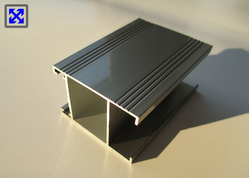 High Strength 2.0mm Thickness Aluminum Extrusion Profiles 6063 Alloy Anti Corrosive