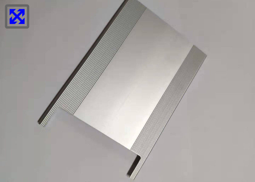 Natural Color Anodizing CNC Aluminum Profile Milling Processing Good Machinability