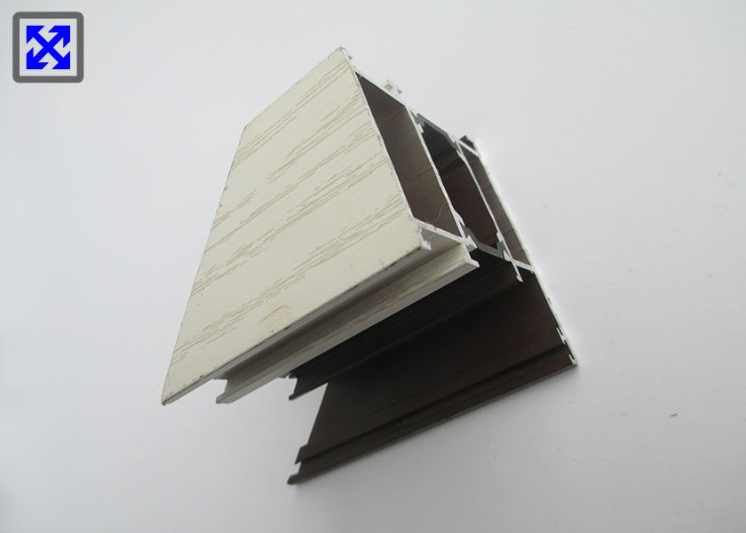 Thermal Break Aluminum Window Profile Recyclable Material For European Market