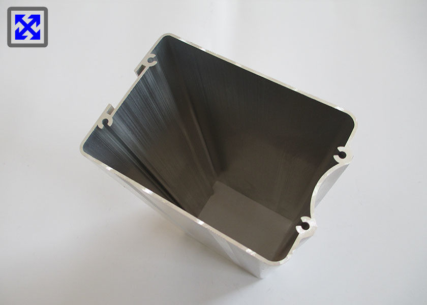 Battery Housing Extruded Aluminum Enclosure Polishing Natural Color JIS Tolerance