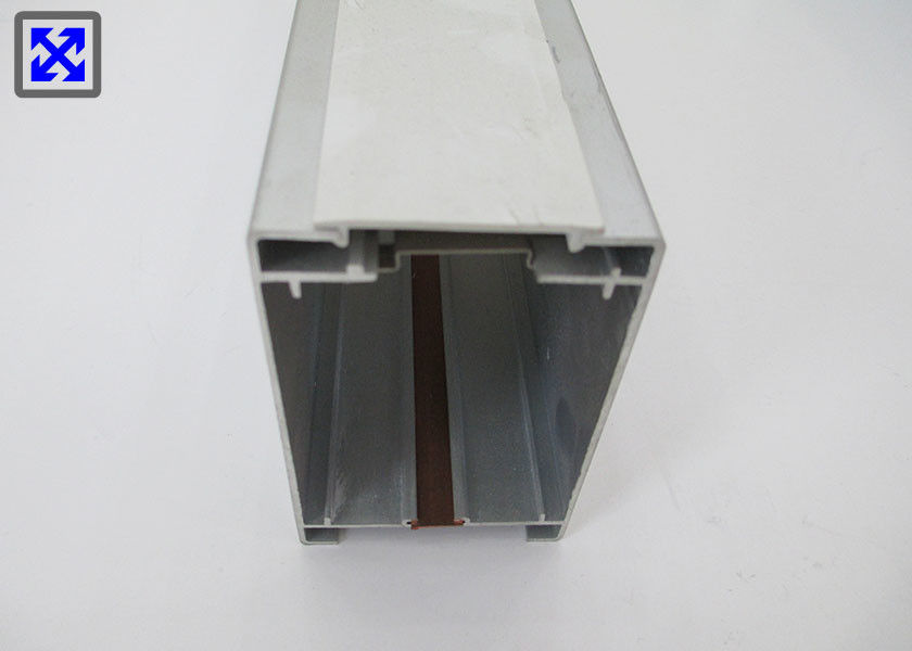 Natural Anodized Aluminium Profile Enclosures 6000 Series Anti Friction