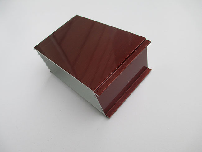 High Intensity Red Coated Aluminum Door Profiles For Chinese Style Doors