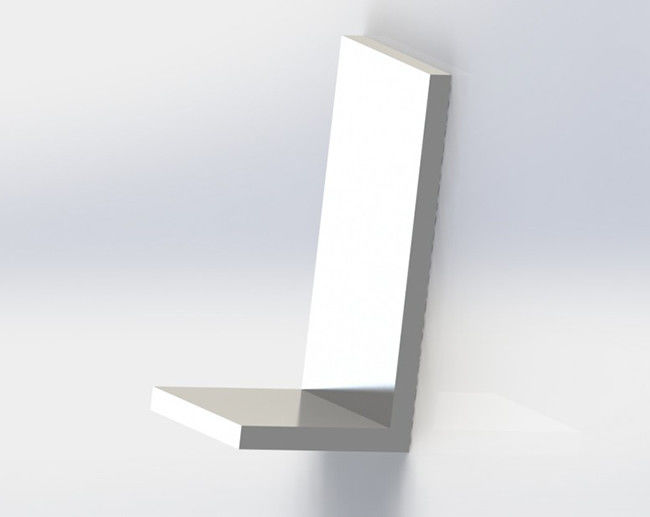 6000 Series Structural Aluminum Angle , Aluminium Angle Trim For Engineering